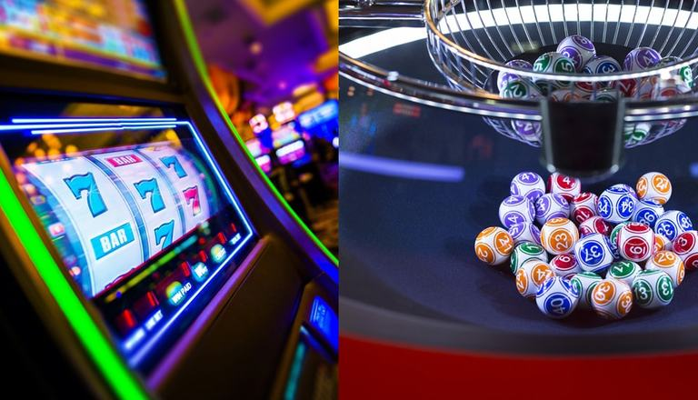 Gambling Perception: Lotteries vs Slot Machines